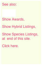 See also: